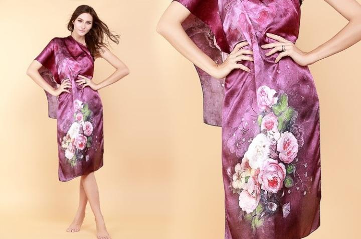 lenço seda roxo lilas flores (1)