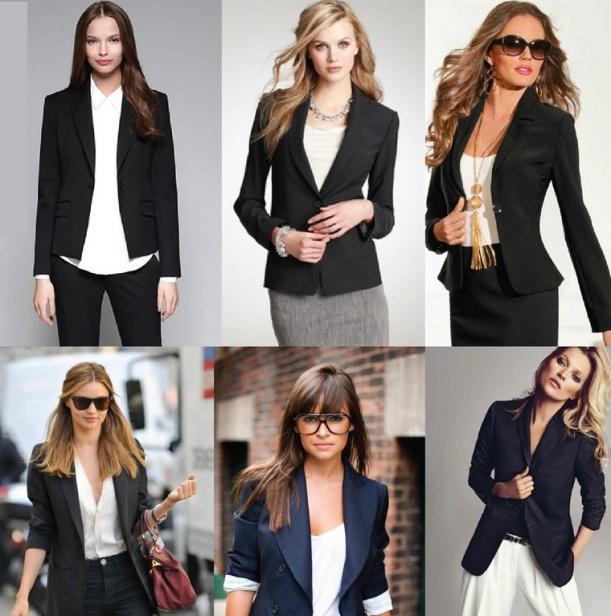blazers pretos roupas de trabalho moda office