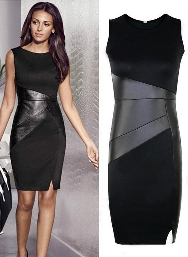 Como usar vestido preto para trabalhar