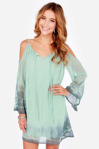 vestido verde agua degrade 2