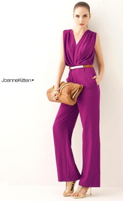 macacao elegance roxo lilas