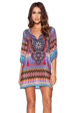 vestido etnico tribal roxo--