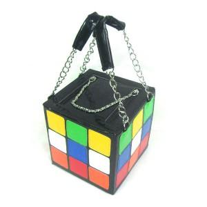 bolsinha clutch cubo mágico 2