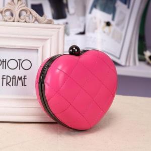 clutch coração pink 2