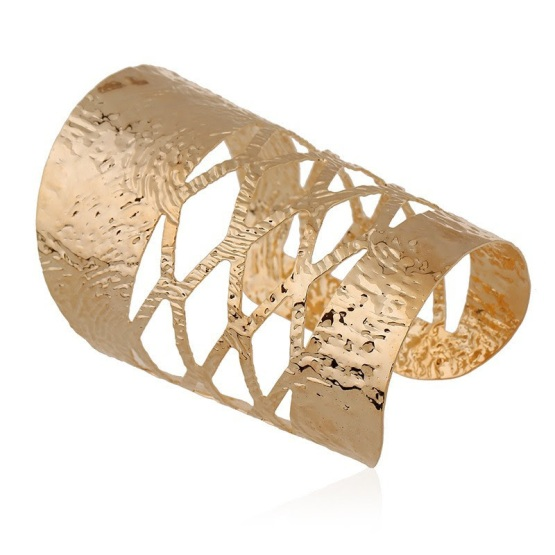 bracelete maxi dourado Imperatriz