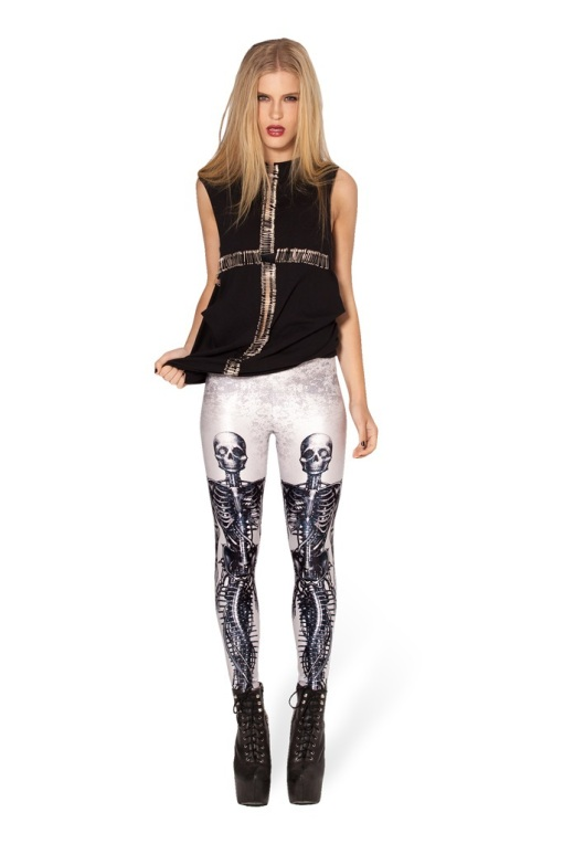 Legging Estampa Caveira