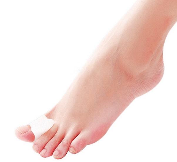 separador de dedao foot care de silica