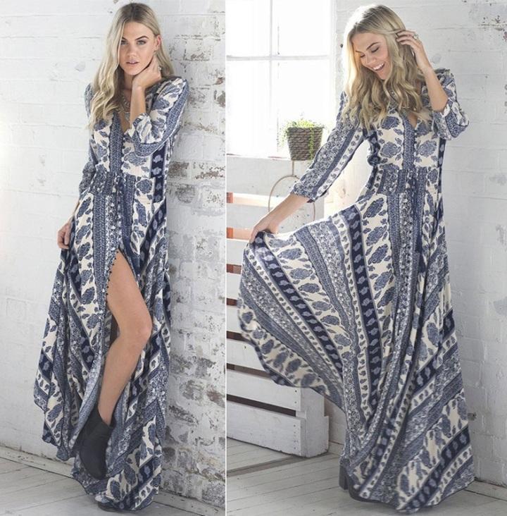 vestido-longo-etnico-manga-branco-azul
