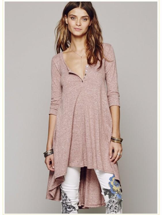 vestido-blusao-marrom-claro-assimetrico