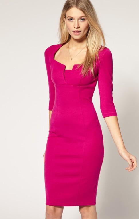 vestido-rosa-lapis-office-escritorio