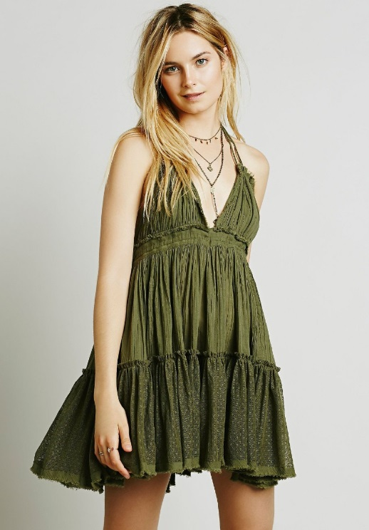 vestido-boho-gipsy-curto-verao-verde-oliva