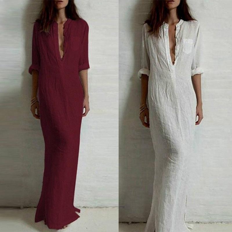 vestido-chemise-longo-branco-vinho