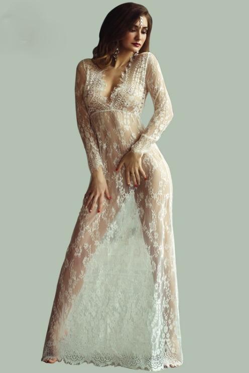 vestido-longo-de-renda-transparente-lingerie