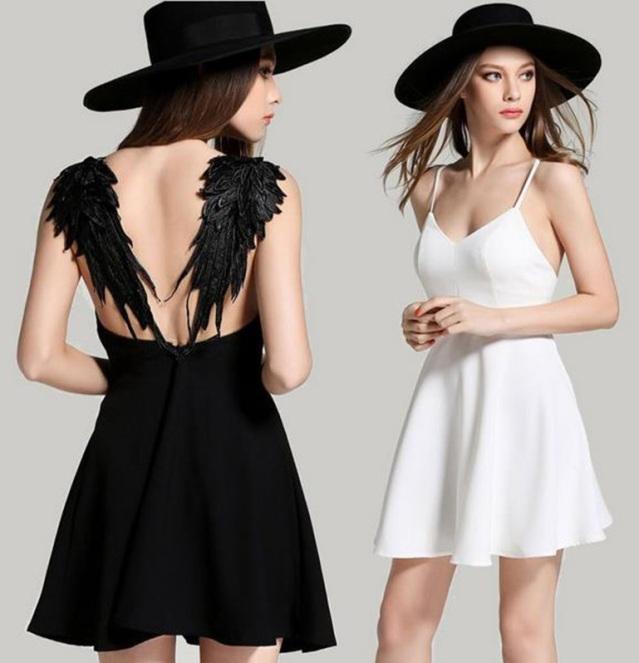 vestido-de-festa-asas-de-anjo-preto-branco