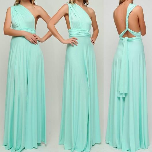 vestido longo de amarrar verde agua 3
