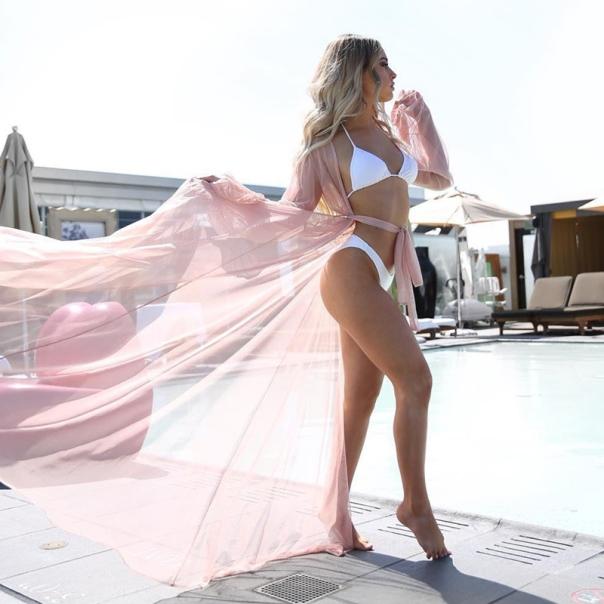 Vestido Longo Saída de Praia Transparente