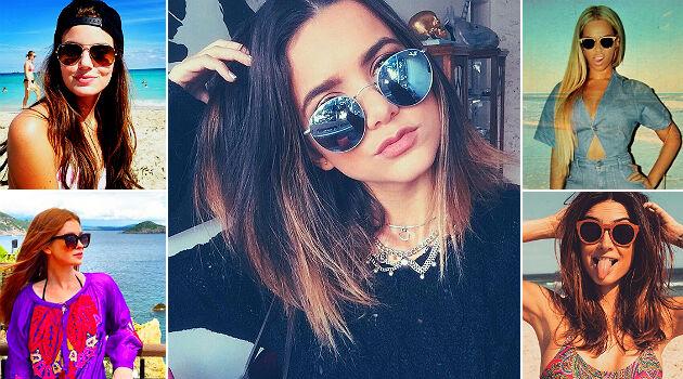 Óculos de sol das famosas blogueiras