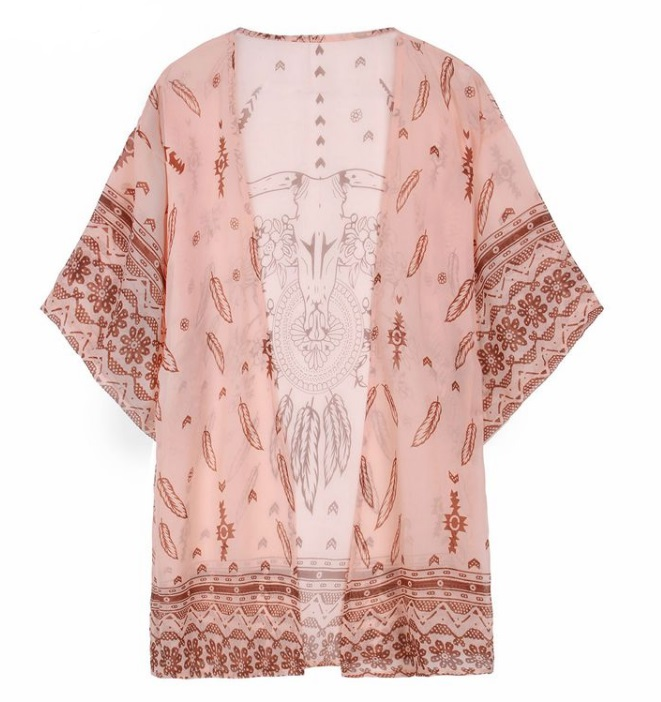 Kimono de chiffon